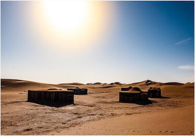 Luxury Desert Camp Retreat in Morocco