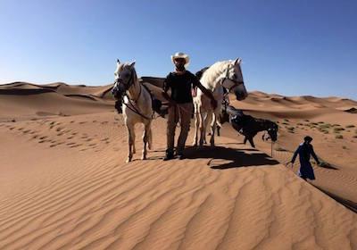 morocco camel trekking and horse trekking