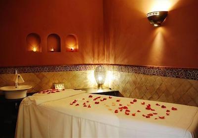 Luxury Spa Massage Room, Marrakech, Morocco