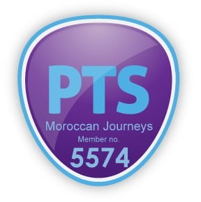 PTS Protected Trust Services Logo For Moroccan Journeys Member Number 5574